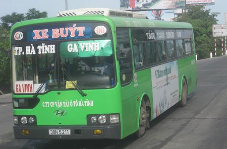 Tuyến số 06: TP Hà Tĩnh – Ga Vinh