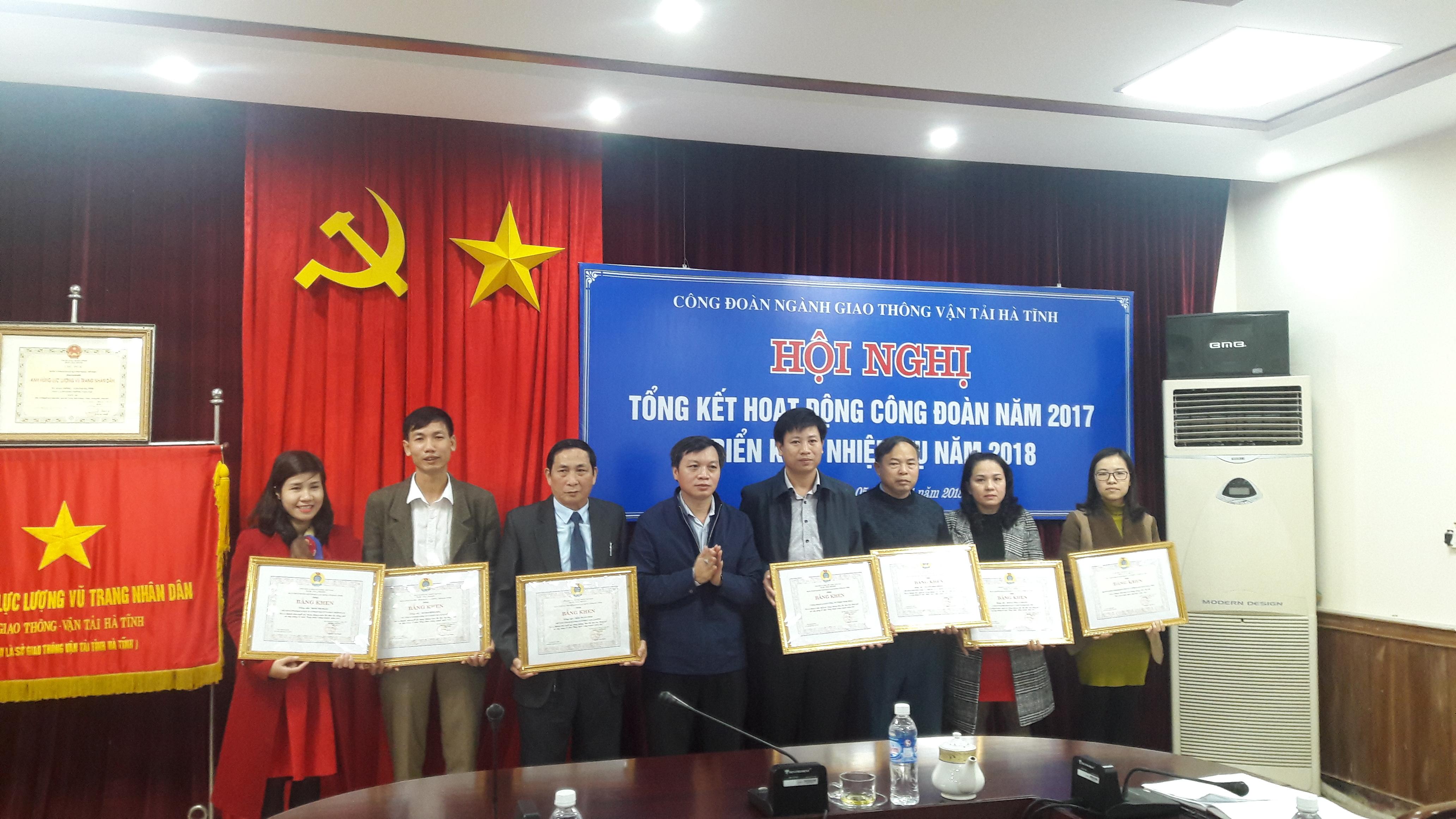 CĐ ngành GTVT tổng kết hoạt động năm 2017