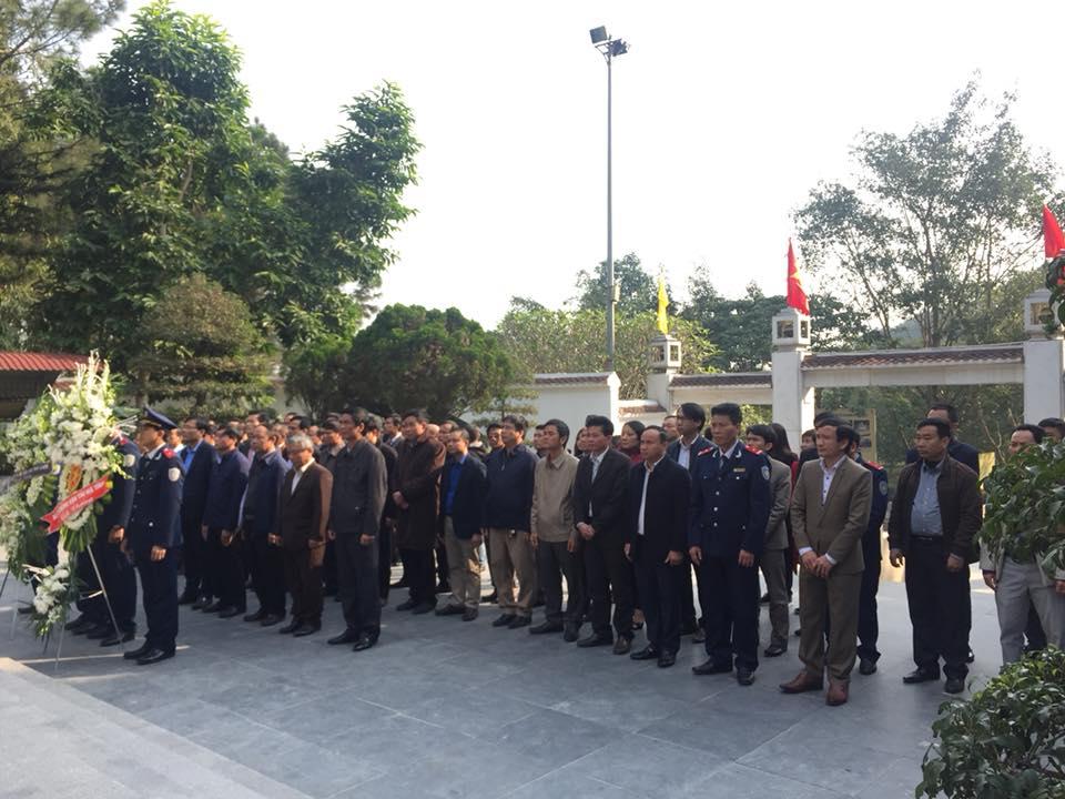 Sở GTVT Hà Tĩnh dâng hương tri ân các anh hùng, liệt sỹ