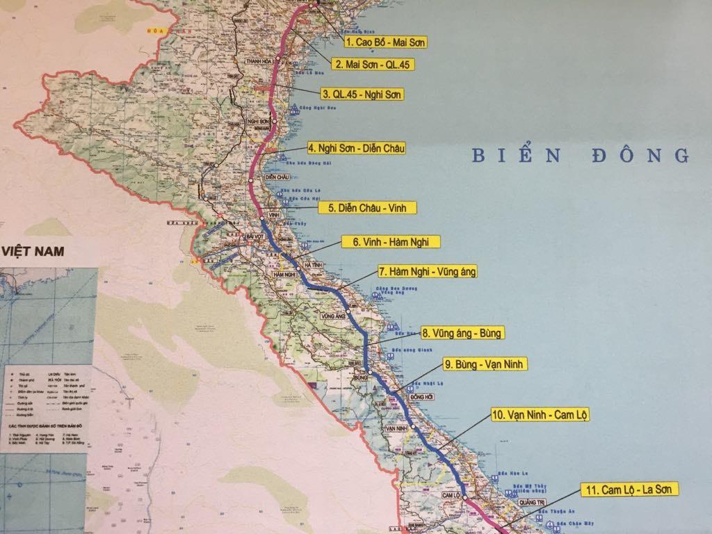 Đoàn công tác Ban QLDA 6 (Bộ GTVT) làm việc với tỉnh Hà Tĩnh để triển khai Dự án xây dựng đường bộ cao tốc Bắc - Nam đoạn Diễn Châu – Bãi Vọt