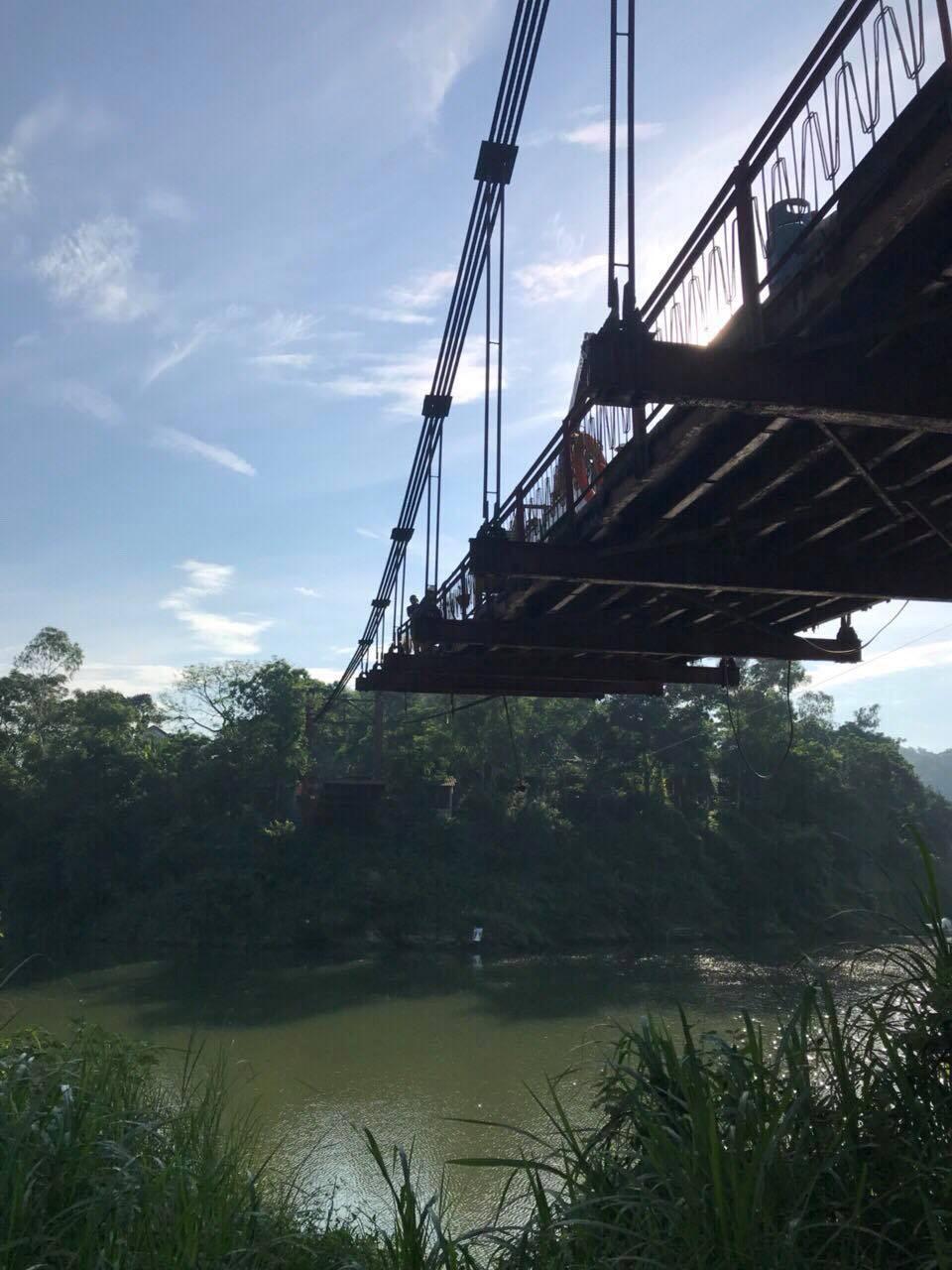 Triển khai thi công cầu Vực Nầm huyện Hương Sơn