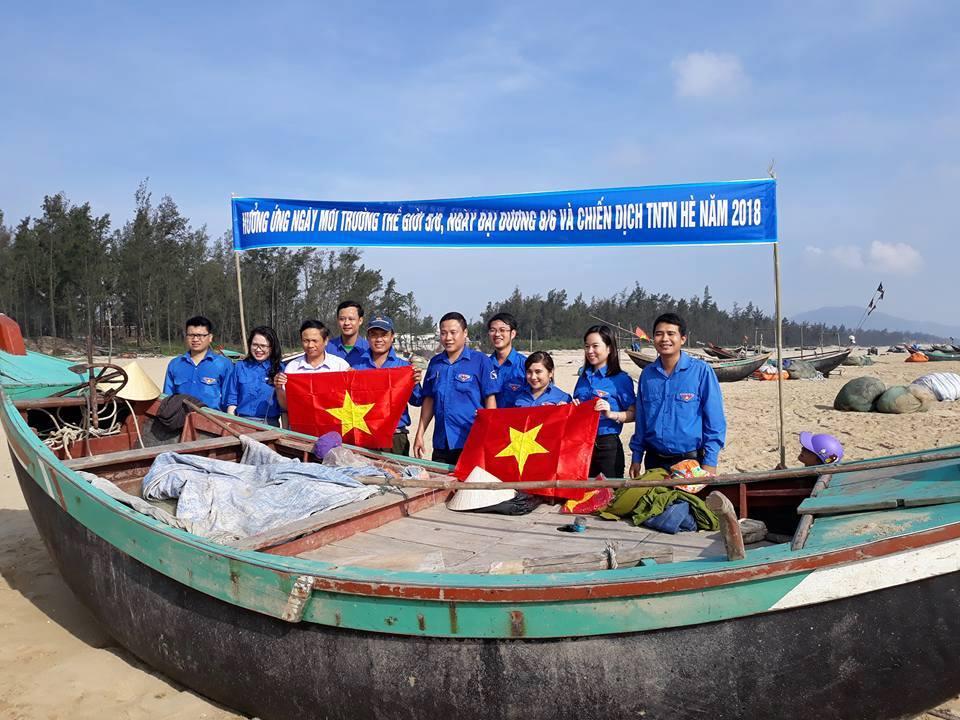 Đoàn thanh niên Sở hưởng ứng ngày môi trường thế giới