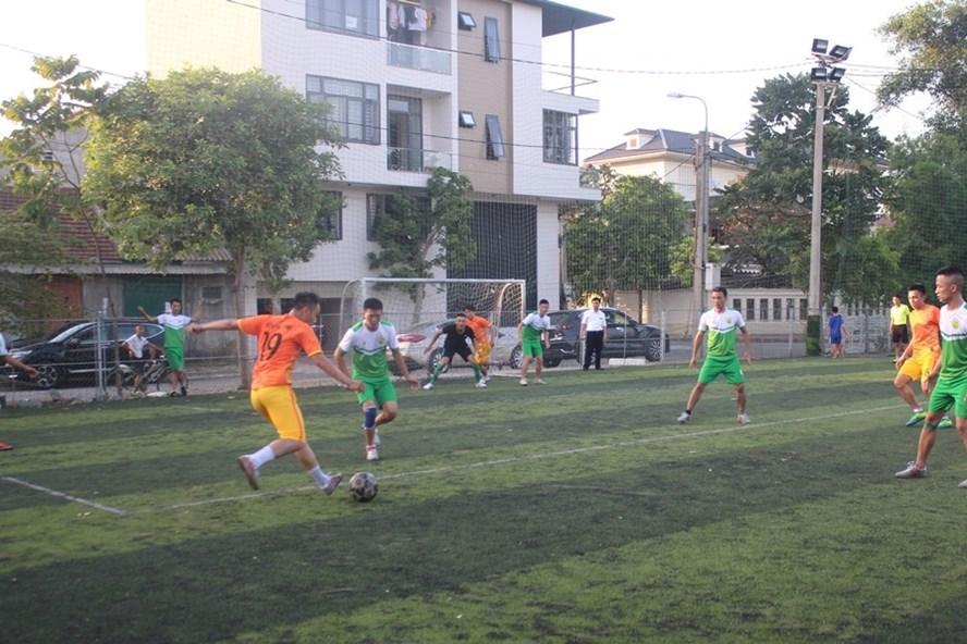 Công đoàn ngành GTVT Hà Tĩnh tổ chức giải bóng đá nam năm 2019