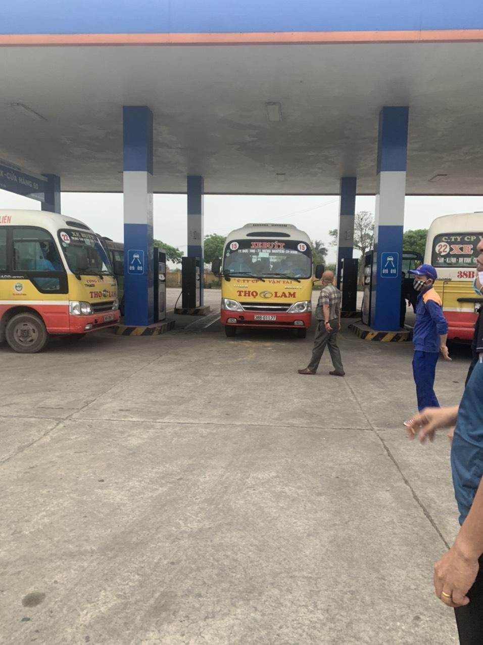 Sở GTVT Hà Tĩnh điều động xe vận chuyển công dân hoàn thành cách ly y tế tập trung về địa phương