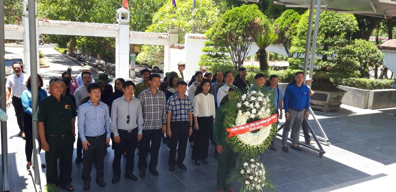 Dâng hương nhân dịp kỷ niệm 73 năm ngày thương binh liệt sỹ 27/7/1947 – 27/7/2020