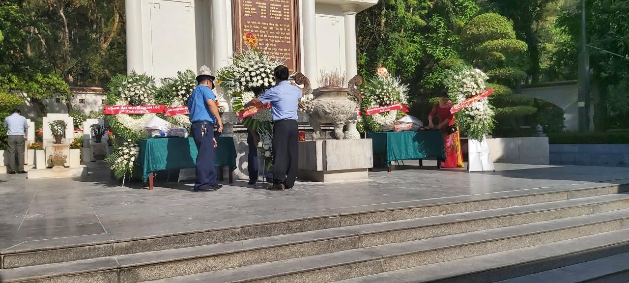 Ngành GTVT tổ chức Dâng hương tại Đồng Lộc