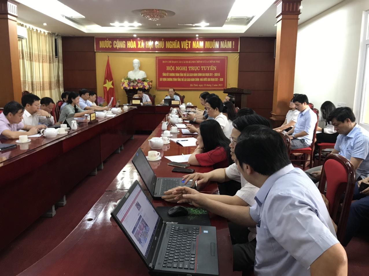 Chính phủ tổ chức hội nghị trực tuyến toàn quốc tổng kết thực hiện chương trình tổng thể cải cách hành chính (CCHC) nhà nước giai đoạn 2011 - 2020.