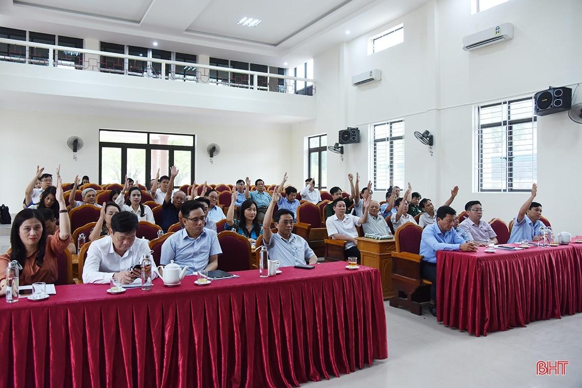 13 ứng cử viên đại biểu Quốc hội tại Hà Tĩnh