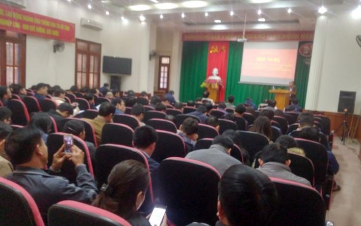 Ngày 6/12, tại Hội trường Sở GTVT đã diễn ra Hội nghị học...