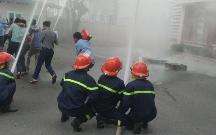 Sở GTVT tổ chức tập huấn công tác PCCC