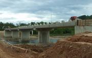 Hoàn thành công trình cầu dân sinh trước mưa bão
