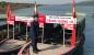 Thanh tra Sở đảm bảo an toàn đường thủy tại Lễ hội Chùa Hương.