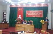 Đại hội Chi bộ Kế hoạch – Quản lý chất lượng bộ lần thứ I, nhiệm kỳ 2020-2022