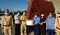 Lãnh đạo Sở phối hợp Công đoàn Thăm hỏi động viên các chốt phòng dịch